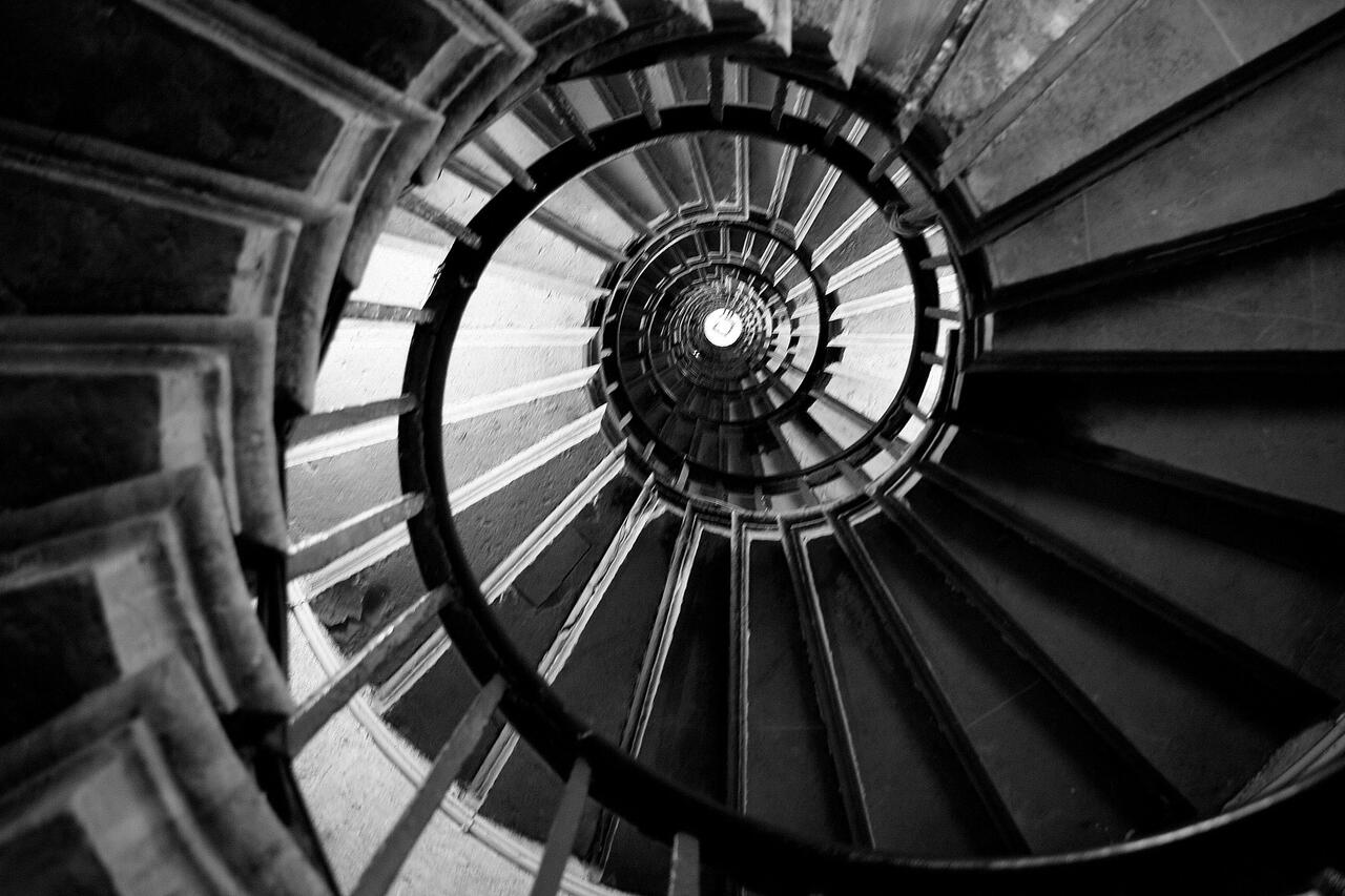 Spiral - view from above
