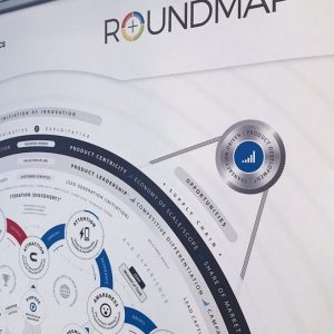 Roll-up Banner ROUNDMAP™