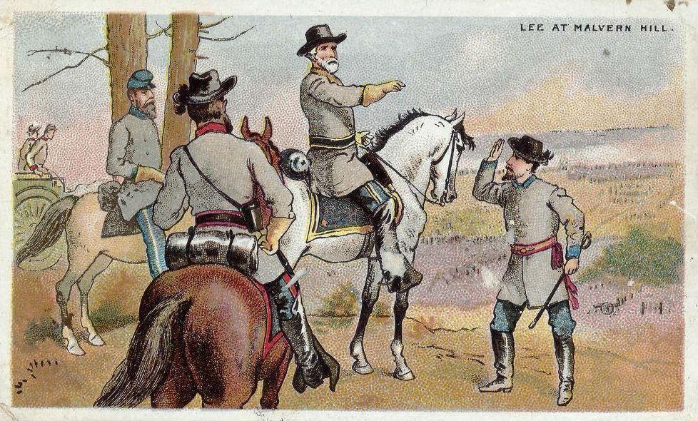 General Lee at Malvern Hill